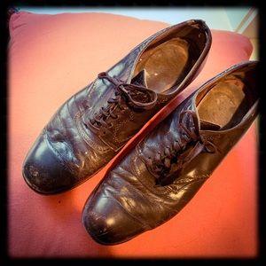 🎈Brown Vintage Lace-up Heels Size 8.5 🎈